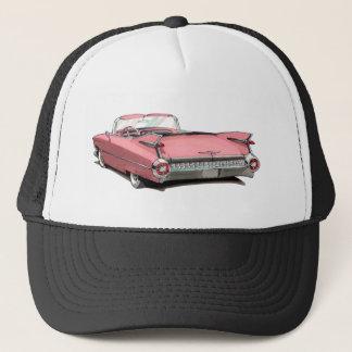 1959 Cadillac Pink Car Trucker Hat