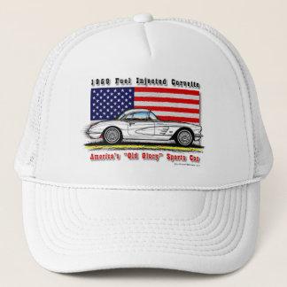 1959 Fuel Injected Corvette Baseball / Trucker Cap