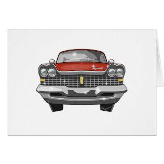 1959 Plymouth Fury Card