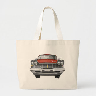 1959 Plymouth Fury Large Tote Bag