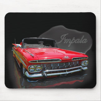 1959 Ragtop red Mouse Pad