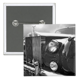 1959' ROLLS ROYCE 2 INCH SQUARE BUTTON