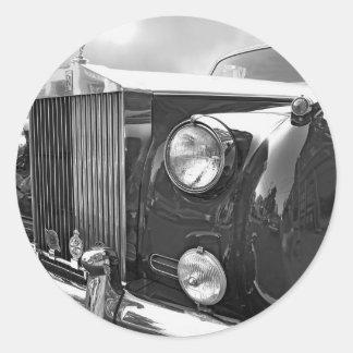 1959' ROLLS ROYCE ROUND STICKER