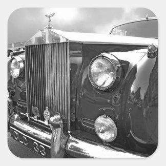 1959' ROLLS ROYCE SQUARE STICKER