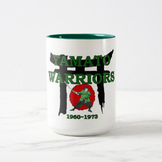 1960-1973 Yamato High School Japan Two-Tone Coffee Mug