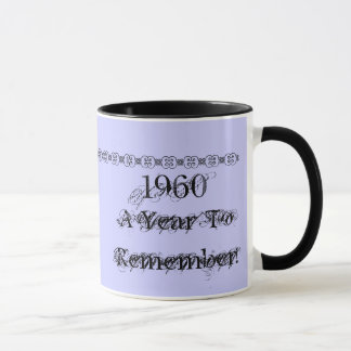1960, A Year ToRemember! Mug