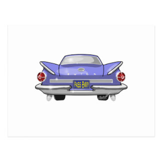 1960 Buick Electra Postcard
