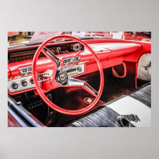 1960 Buick Se Sabre Interior Poster