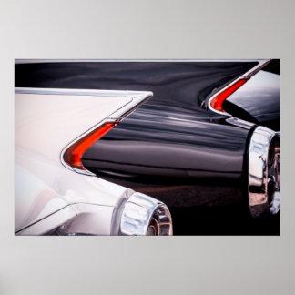 1960 Cadillac Curves Poster