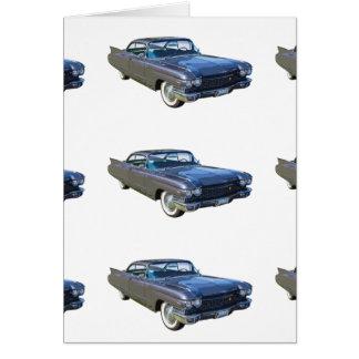 1960 Cadillac Luxury Car Card
