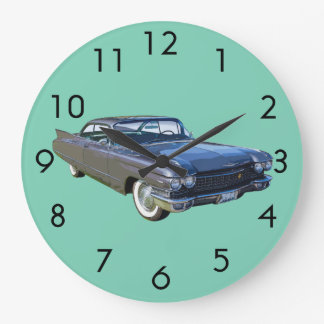 1960 Cadillac Luxury Car Large Clock