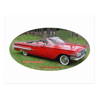 1960_Chevrolet_Impala Postcards