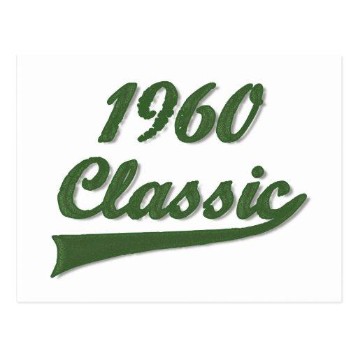 1960 Classic Postcards