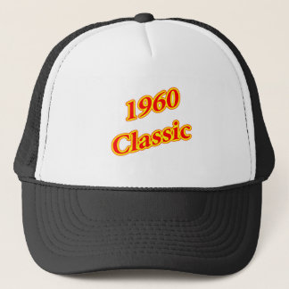 1960 Classic Red Trucker Hat