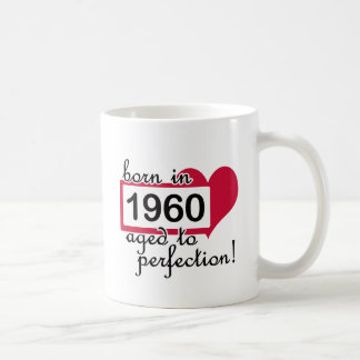 1960 CLASSIC WHITE COFFEE MUG