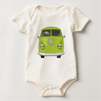 1960 Hippie Van Baby Bodysuit