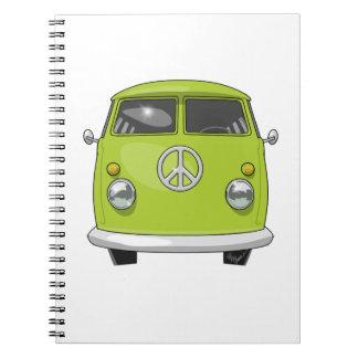 1960 Hippie Van Notebooks