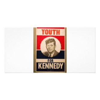 1960 Kennedy Photo Greeting Card