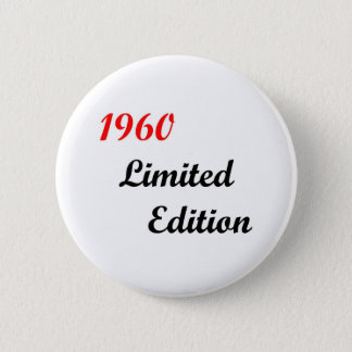 1960 Limited Edition 2 Inch Round Button