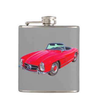 1960 Mercedes Benz 300 SL Convertible Hip Flask