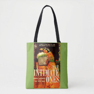 1960 pulp novel cover The Intimate Ones print Tote Bag