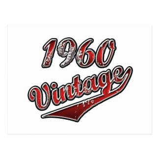 1960 Vintage Postcard