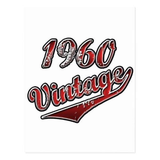 1960 Vintage Postcards
