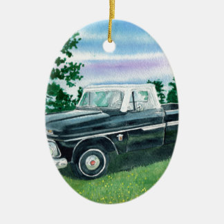 1960's Chevrolet Truck Ceramic Ornament