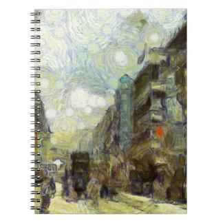1960s Hong Kong Spiral Notebook