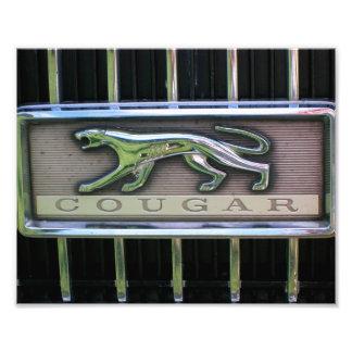 1960's Mercury Cougar Grill Emblem Photo Print