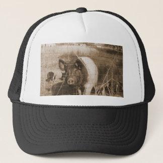 1960s Pig Trucker Hat