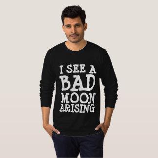1960s T-shirts, I SEE A BAD MOON ARISING T-Shirt