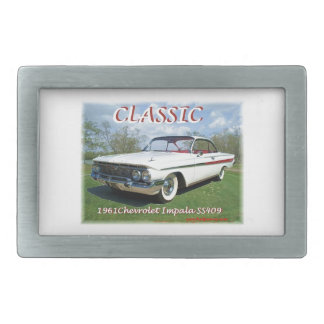 1961_Chevrolet_Impala Belt Buckle