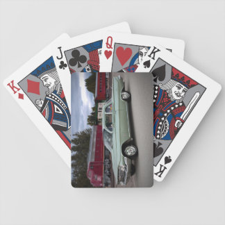 1961 Chevy Chevrolet Biscayne Classic Car Bicycle Playing Cards