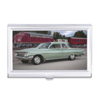 1961 Chevy Chevrolet Biscayne Classic Car Business Card Holder