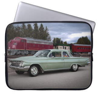 1961 Chevy Chevrolet Biscayne Classic Car Laptop Sleeve