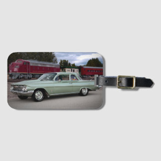 1961 Chevy Chevrolet Biscayne Classic Car Luggage Tag