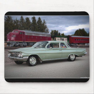 1961 Chevy Chevrolet Biscayne Classic Car Mouse Pad