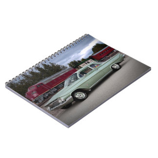 1961 Chevy Chevrolet Biscayne Classic Car Notebook