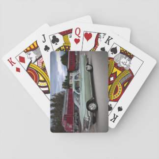 1961 Chevy Chevrolet Biscayne Classic Car Playing Cards