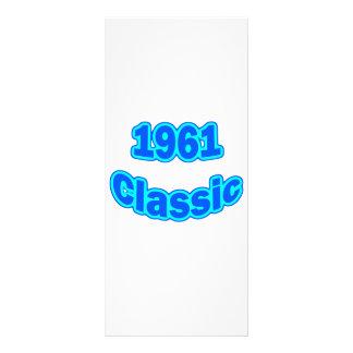 1961 Classic Blue Rack Card
