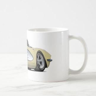 1961 Corvette Beige Convertible Coffee Mug