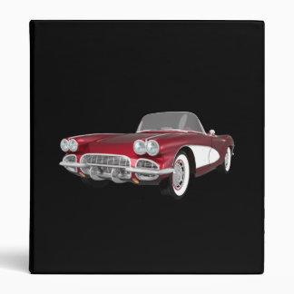 1961 Corvette Sports Car: Candy Apple: Binder