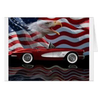 1961 Corvette Tribute Card