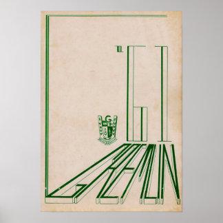 1961 Graydon Gremlin Yearbook Poster