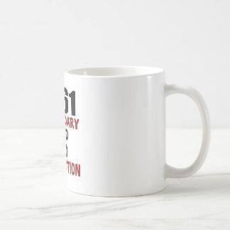 1961 LEGENDARY AGED TO PERFECTION COFFEE MUG