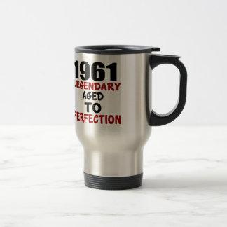 1961 LEGENDARY AGED TO PERFECTION TRAVEL MUG