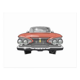 1961 Plymouth Fury Postcard