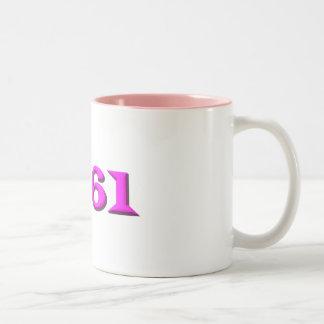 1961 Two-Tone COFFEE MUG
