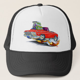 1962-63 Impala Red Convertible Trucker Hat